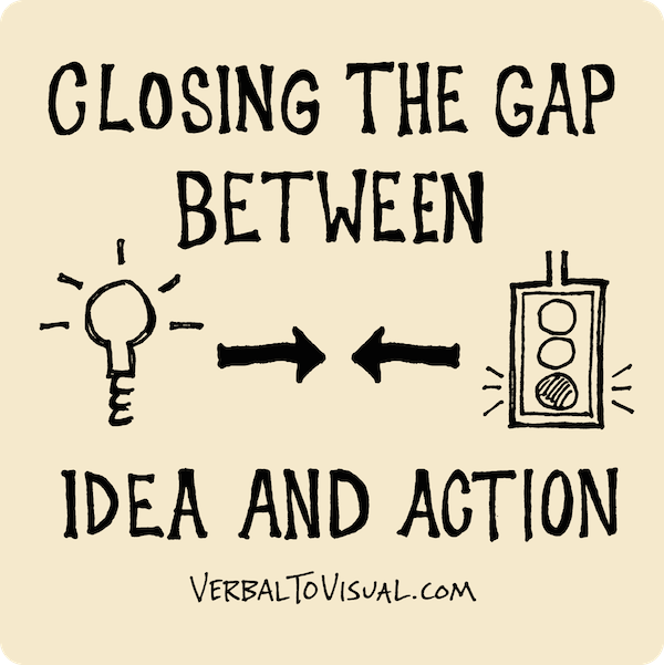 Closing The Gap Between Idea And Action - Verbal To Visual Podcast - Doug Neill