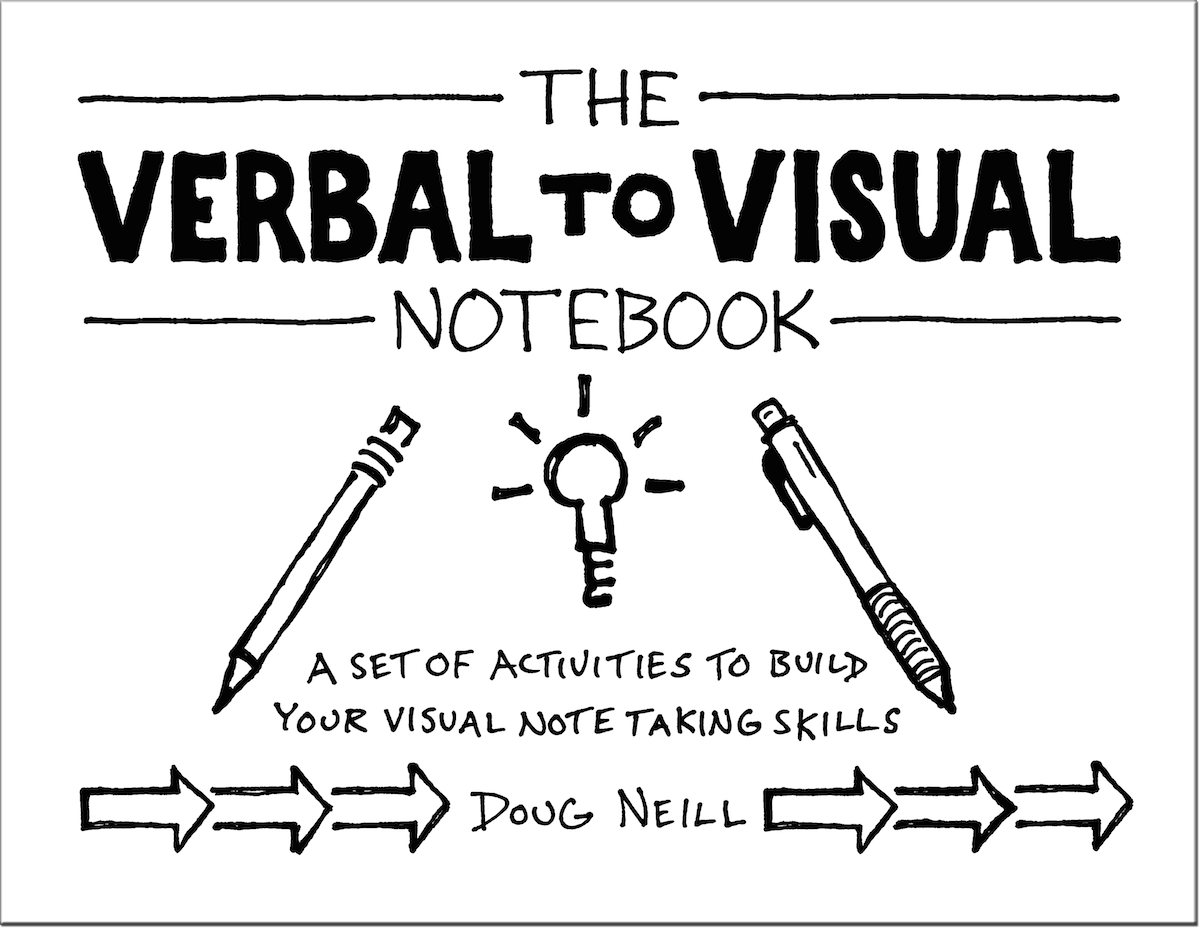 The Verbal To Visual Notebook Cover - Doug Neill