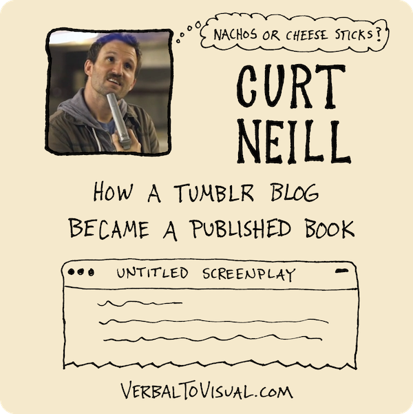 Curt Neill - How A Tumblr Blog Became A Published Book - The Verbal To Visual Podcast - Doug Neill