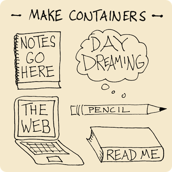 Make Containers - Solidifying Your Visual Vocabulary - Verbal To Visual - Doug Neill