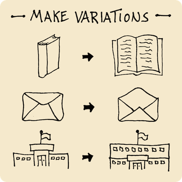 Make Variations - Solidifying Your Visual Vocabulary - Verbal To Visual - Doug Neill