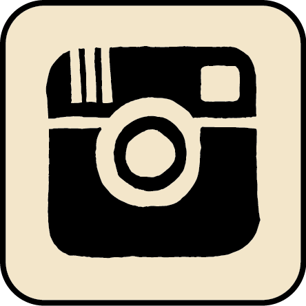verbal to visual sketched instagram icon