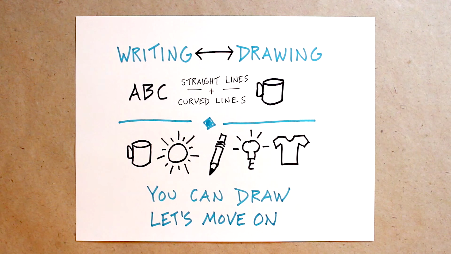 You Can't Draw I Don't Believe You (Full) - Verbal To Visual Video - Doug Neill - sketchnoting, doodling, visual note-taking, visual notes