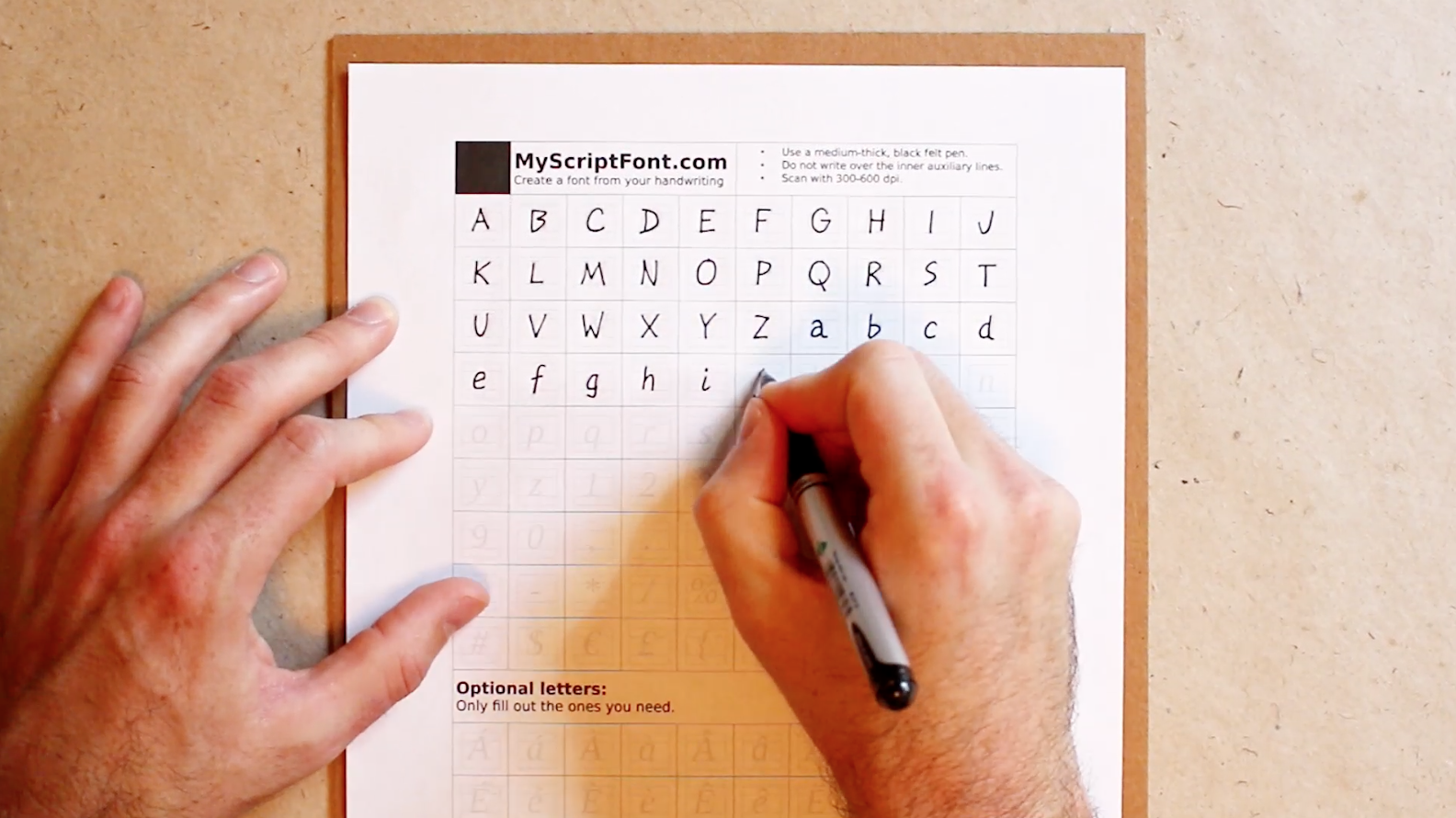 Create A Computer Ready Font From Your Own Handwriting Verbal To Visual