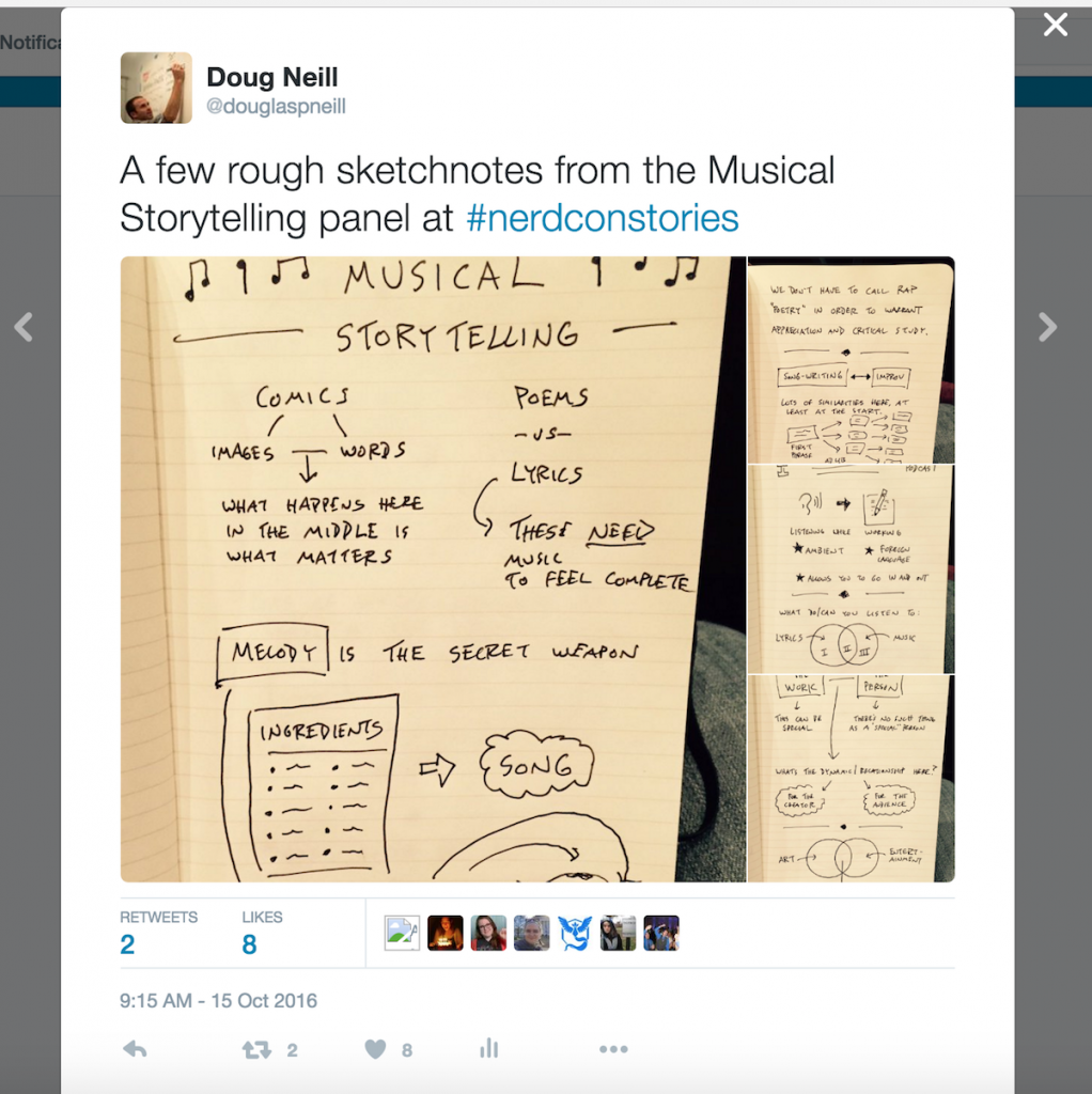 Sharing Sketchnotes On Twitter