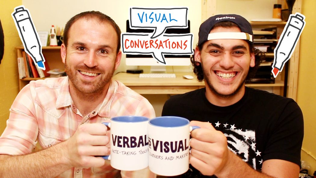 Cheers To The Next Stage - Visual Conversations - Verbal to Visual - Doug Neill, Austin Luis, sketchnoting, visual notes, graphic recording