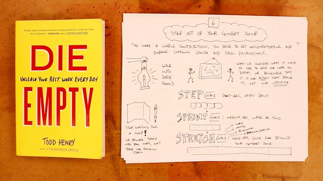 Your Notes Don't Have To Look Good - Verbal To Visual - Doug Neill - sketchnoting, visual note-taking, visual notes, graphic recording, todd henry, die empty