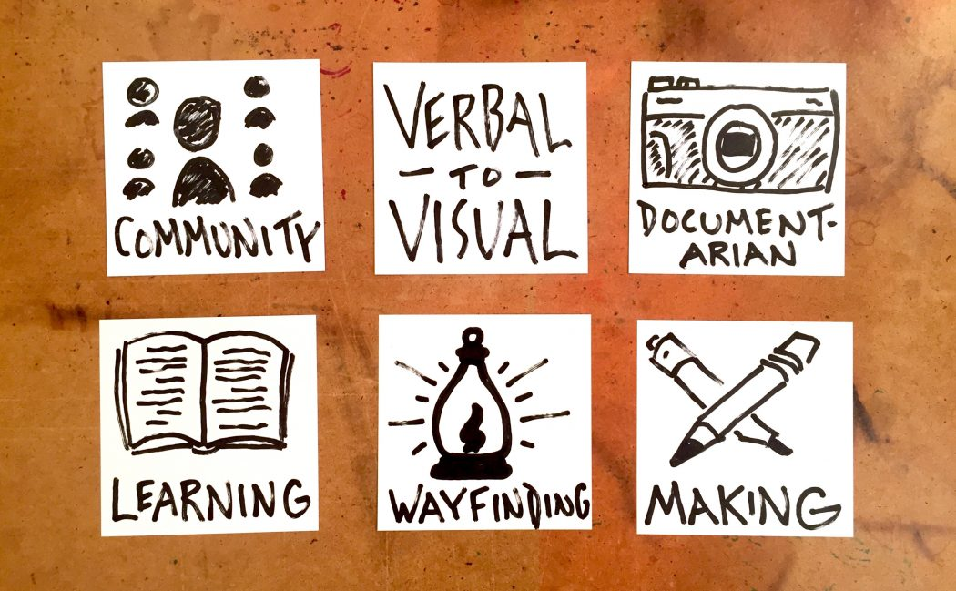 Becoming A Documentarian - Doug Neill, Verbal To Visual, Wayfinding Academy, learning, making, community