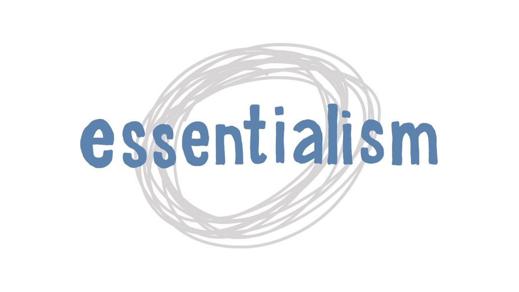 Essentialism by Greg McKeown - A Visual Summary - Verbal to visual; doug neill; visual note-taking; mind map, diagram