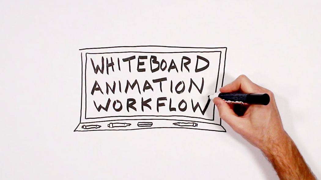 Whiteboard Animation Workflow - Verbal To Visual - Doug Neill - sketchnoting, sketchnote video, hand-sketched video